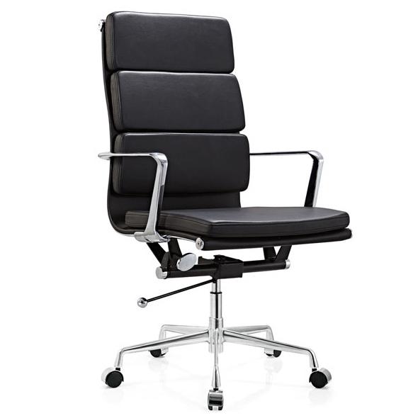 969A-5铝合金软包办公椅